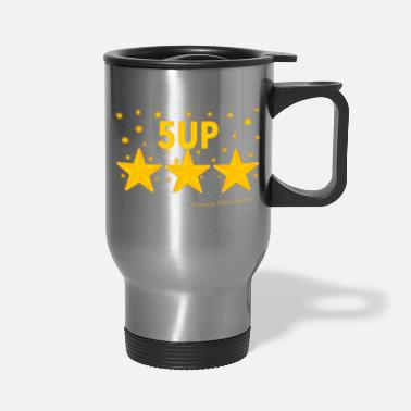 Ramseys Retro Apparel Ramseys 5-UP Stars - Travel Mug
