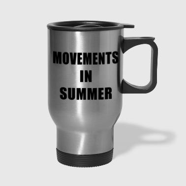 Movements In Summer - Travel Mug