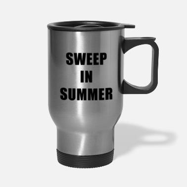 Sweep Sweep In Summer - Travel Mug