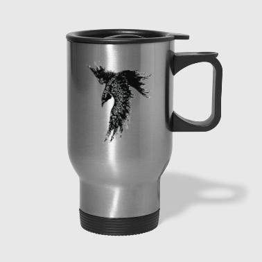 FOR I AM THE RAVEN THE CHILD OF ODIN - Travel Mug