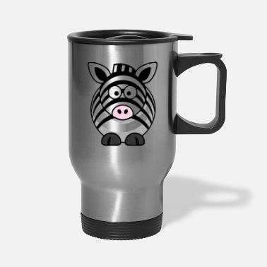 Zebra zebra - Travel Mug