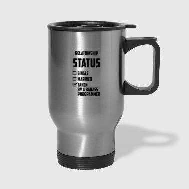 Relationship Status - Travel Mug