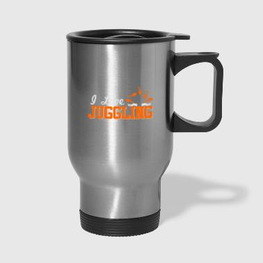 juggling - Travel Mug