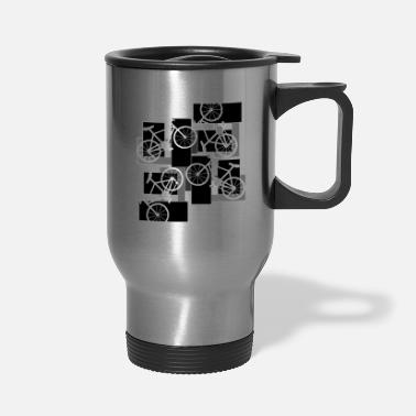 Rectangle Bicycle Rectangles - Travel Mug