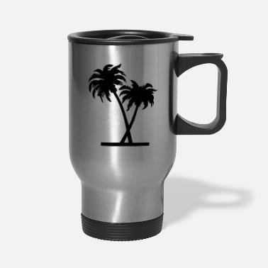 Palm Trees palm - palm tree - Travel Mug