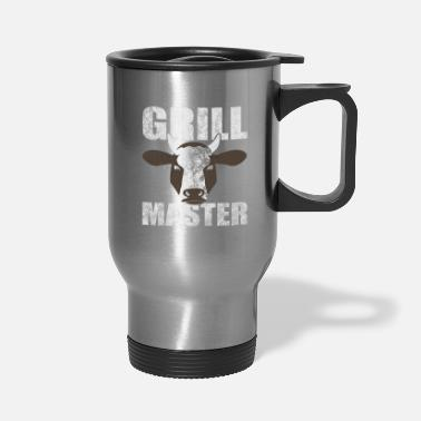 Grill Funny Grill Party Grilling Master BBQ Summer Gift - Travel Mug