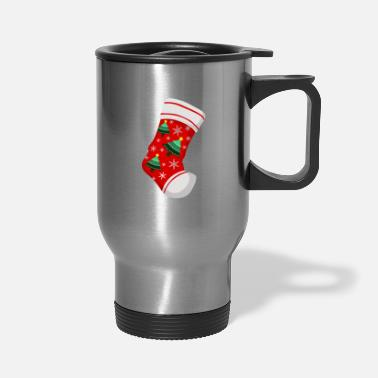 Dizeyns Cute Stockings Christmas Xmas Socks - Travel Mug