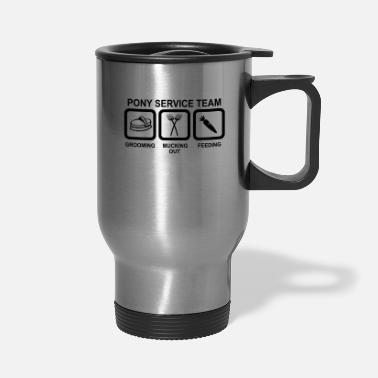 Pony pony - Travel Mug