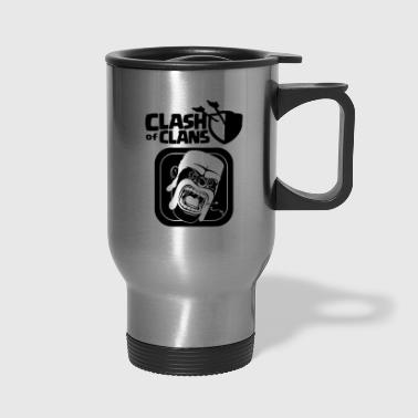 Clash Barbarian Clash of Clans - Travel Mug