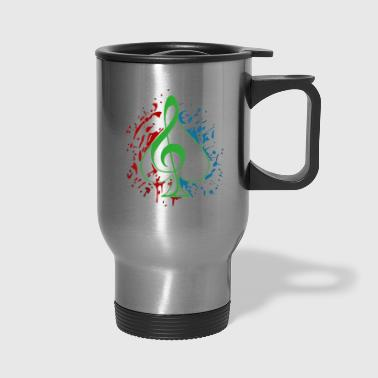 Treble clef - Travel Mug