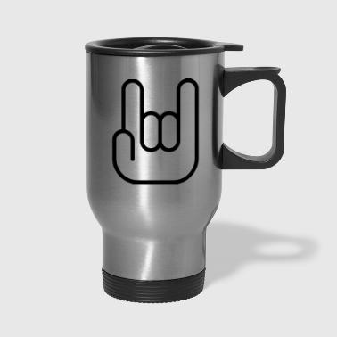 Hand sign - Travel Mug