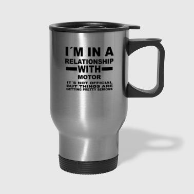 relationship with MOTOR SPORTS - Travel Mug