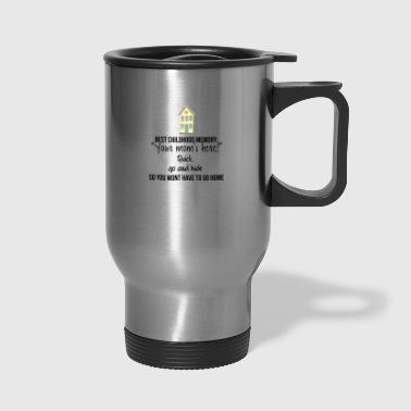 Childhood Best childhood memory - Travel Mug