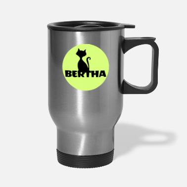 Name Day Bertha name first name - Travel Mug