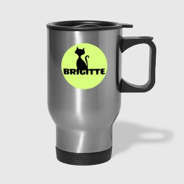 Name Day Brigitte name first name - Travel Mug