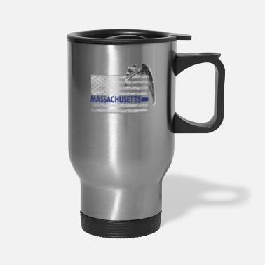 State Massachusetts Police State Police Guardian Angel - Travel Mug