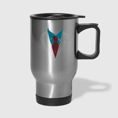 Suits for any occasion dressed formally elegant - Travel Mug