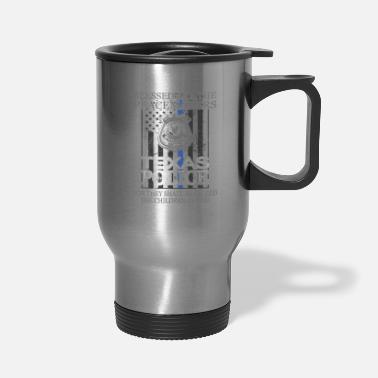 Police Department Texas Police Support Dallas Police Department Police Gifts - Travel Mug