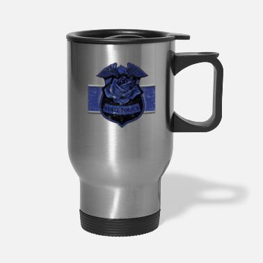 Sheriff Police Memorial State Highway Patrol Remember The Fallen - Travel Mug