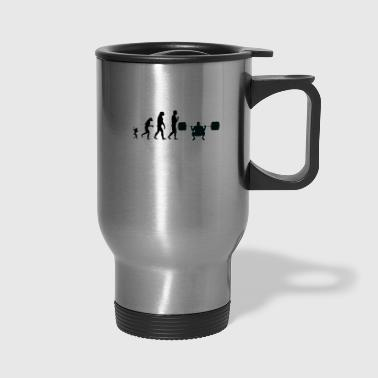 weight lifting evolution, #weight lifting - Travel Mug