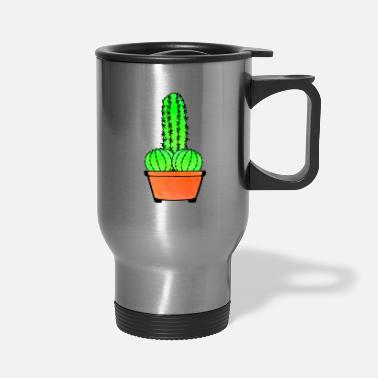 Provocation Provocative Cactus and Aloe - Travel Mug