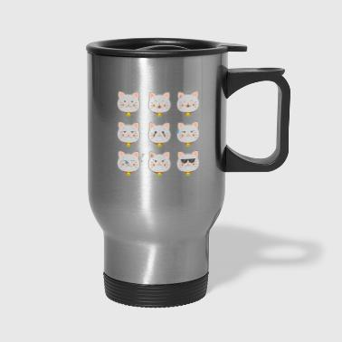 cats cat cats cats cats are wonderful - Travel Mug