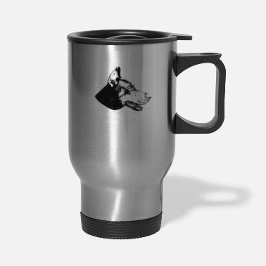 Dobie Dobie Doberman Pinscher - Travel Mug