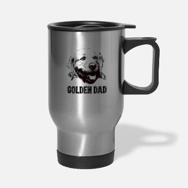 Golden Retriever Golden Dad Golden Retriever - Travel Mug