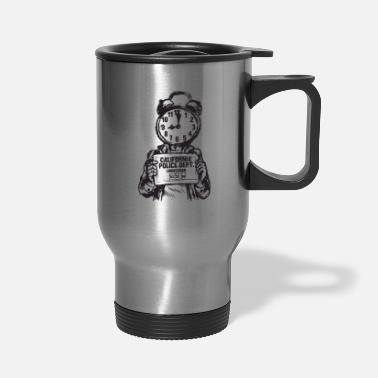 Record Champion POLICE RECORD - Travel Mug