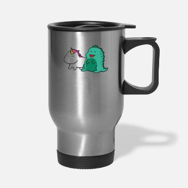 Shop Mythical Creature Travel Mugs online | Spreadshirt