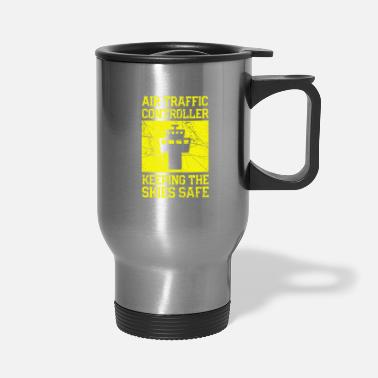 Superman Air Traffic Controller Keeping The Skies Safe - Travel Mug