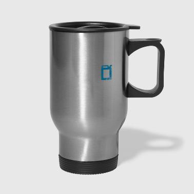 car vehicle fuel in veins - Travel Mug