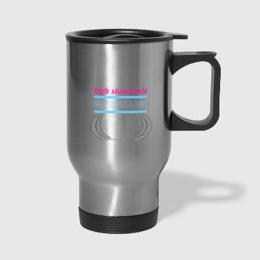 Awesome This teacher runs on Coffee funny teacher gift - Travel Mug