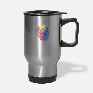 Filipino Filipino Fingerprint - Travel Mug