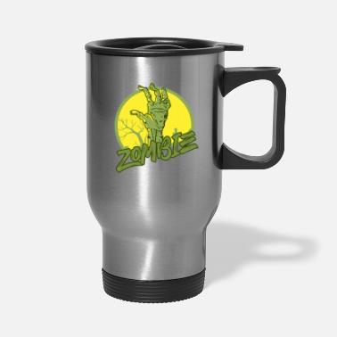 Scifi Zombie - Undead - Geek - Horror - Scifi - Dead - Travel Mug