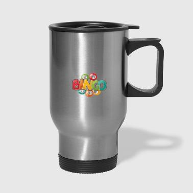 Funny What Happens At Bingo Stays At Bingo Game - Travel Mug