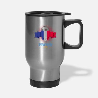 French Flag French Flag Soccer Football - Travel Mug