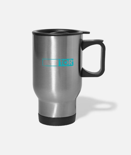 Personalized Custom Coffee Travel Mug Snowboarder Man