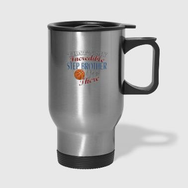 Basketball Step Brother or Sister Gift - Travel Mug