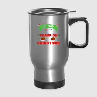 Ophthalmologist by day Binge Eater by Christmas Xmas - Travel Mug