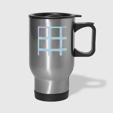 Rectangle rectangles - Travel Mug