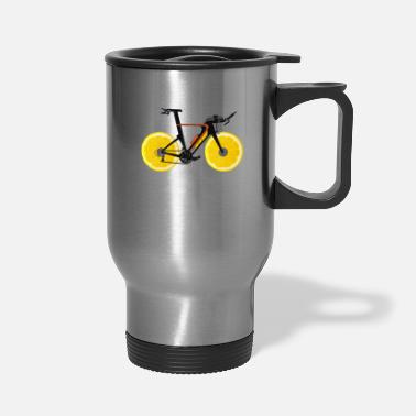 Deluxe Lemon Sports Bike - Limited Edition - Travel Mug