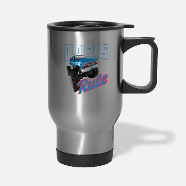 Play Old Guys 4x4 Rule Still Play With Trucks Off Road - Travel Mug