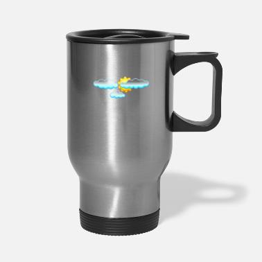 Weather Weather Cirrus About Weather Meteorology - Travel Mug