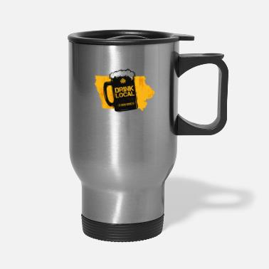 Pint Iowa Drink Local gift Gift for IA Craft Beer - Travel Mug