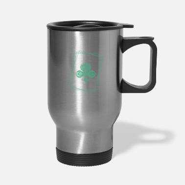 Holdem magic cross card - Travel Mug