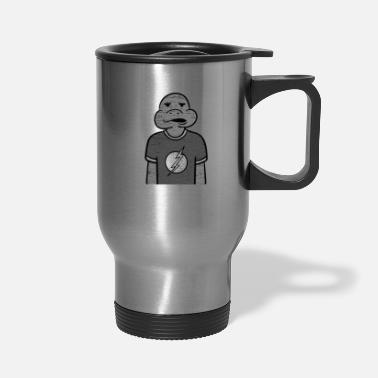 Slow Turtle Man/ Slow Moving Reptile/ Water Creature - Travel Mug