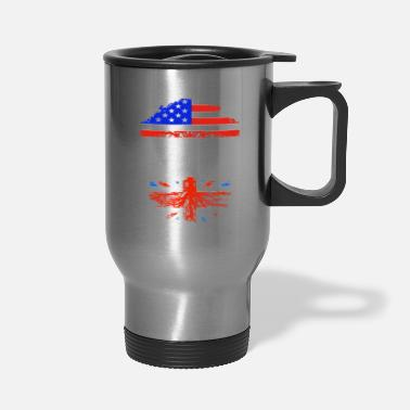 American Grown With British Roots - Travel Mug