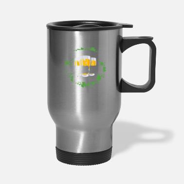 Belly Fitness Beer In My Belly Green Beer St. Patrick's - Travel Mug