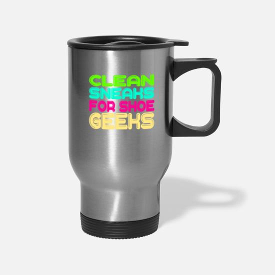 Jerk Mugs & Drinkware - Looking for a colorful and fantastic gift?Here's - Travel Mug silver